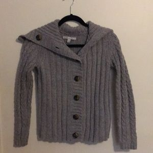Old Navy open front sweater with buttons